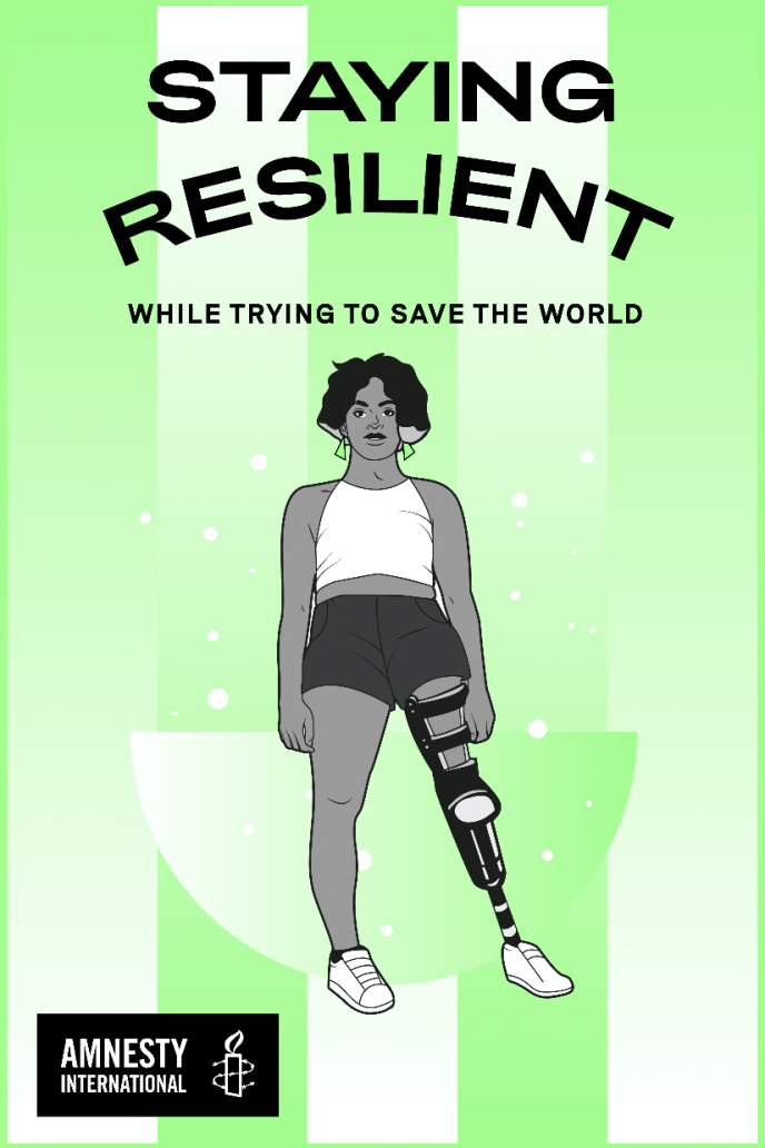 Staying Resilient While Trying to Save the World