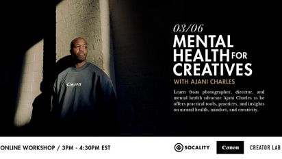 Mental Health for Creatives with Ajani Charles